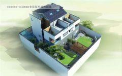仿古宅院设计中式风格大户型