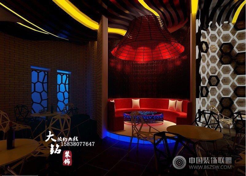 静吧装修设计-单张展示-酒吧装修效果图-八六(中国)