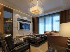 未来锦城现代风格二居室
