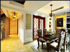 成都尚层装饰别墅装修欧美风格案例欣赏(二十二)美式风格别墅