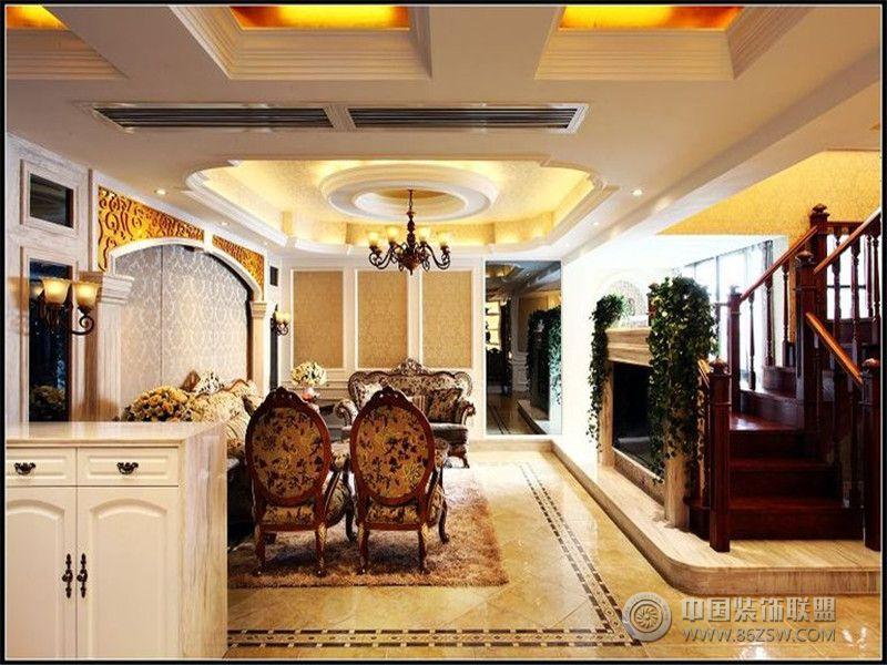 成都尚层装饰别墅装修欧美风格案例欣赏(二十二)