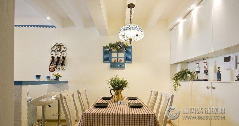 地中海风格海洋地中海客厅装修图片