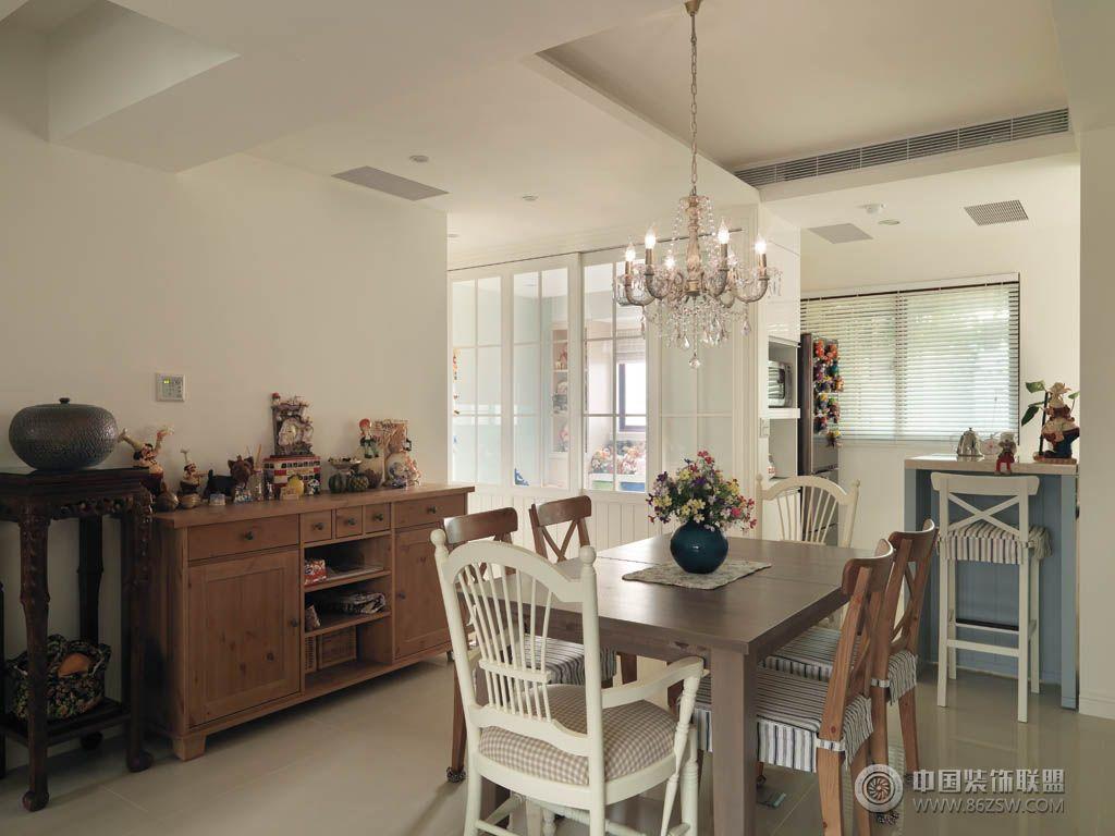 清新美式风格美式客厅装修图片