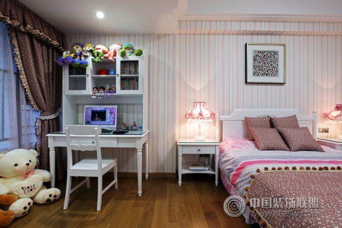 宜家风格儿童房设计方案-卧室装修图片