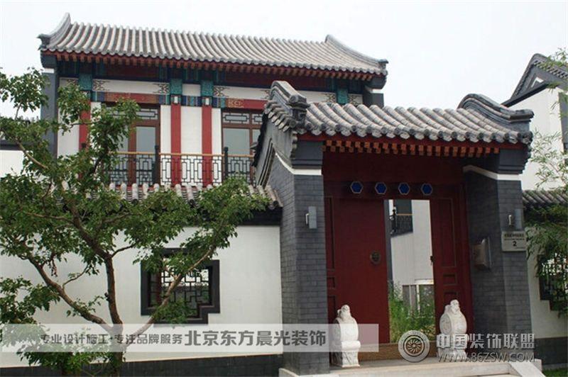 中式门头设计会所装修图片