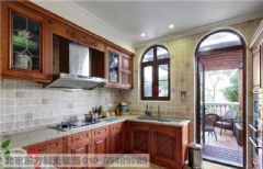 中式厨房装修中式风格大户型