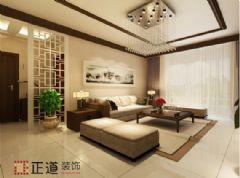 铂金汉宫现代风格三居室