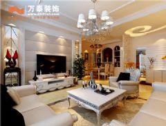 名士豪庭148平简约风格现代风格三居室