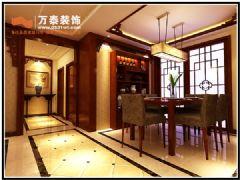 大众日报社宿舍189平中式风格中式客厅装修图片