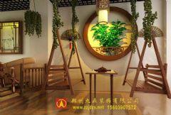 鄭州午后茶館裝修設計