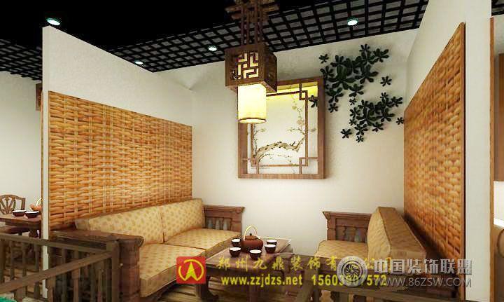 鄭州午后茶館裝修設計-茶館裝修圖片