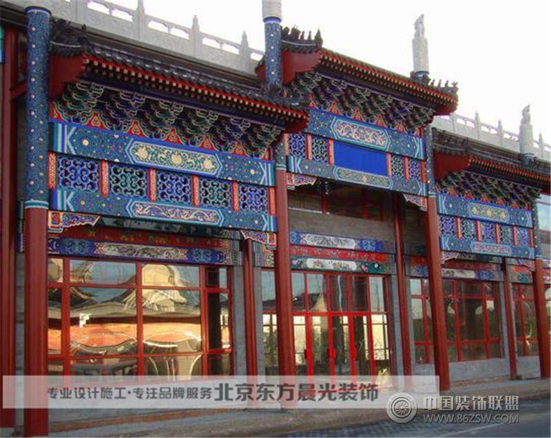 仿古门头装修 其它装修效果图 八六 中国 装饰联盟装修效果图库 -仿古