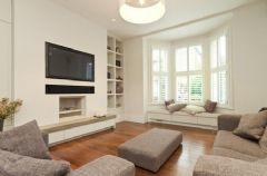 利用飘窗提高房间的采光度和美化度