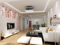 清新脱俗客厅设计方案
