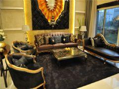 成都尚层装饰别墅装修欧美风格效果图欣赏(二十三)美式风格大户型