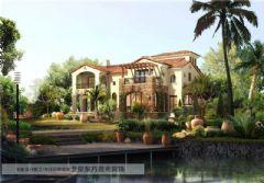 中国院子设计田园风格别墅