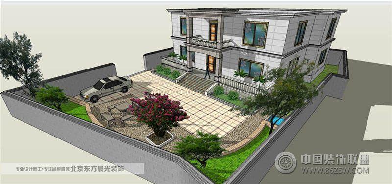 中国院子别墅影音室设计案例图片