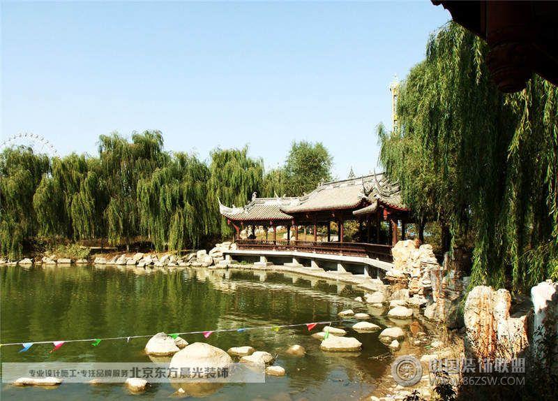 北京中式園林景觀-臥室裝修效果圖-八六裝飾網裝修