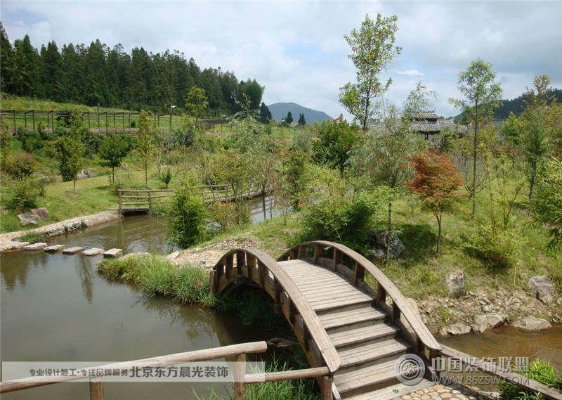 北京中式园林景观 卧室装修效果图