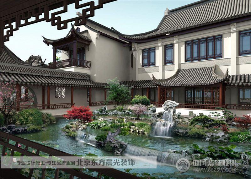中式园林景观图片