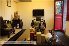 中式四合院装修中式风格大户型