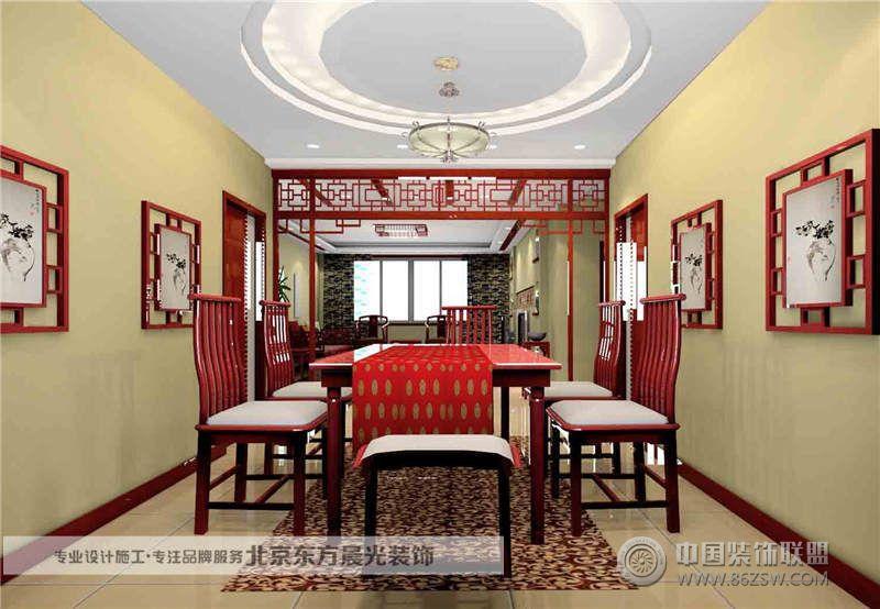 中式餐厅装修 餐厅装修效果图 八六 中国 装饰联盟装修效