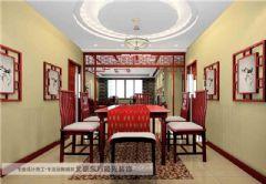 中式餐厅装修中式风格大户型
