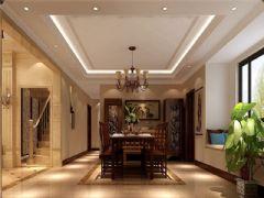 成都尚层装饰别墅装修欧美风格案例(二十六)美式风格别墅