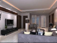 五洲天地欧式风格三居室