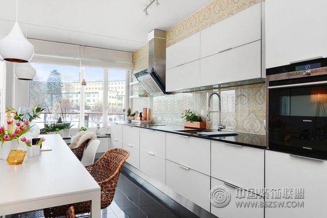 88平宜家温馨舒适婚房 客厅装修图片