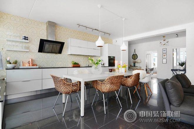 88平宜家温馨舒适婚房 客厅装修效果图