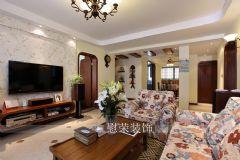 慰荣美式美式风格三居室