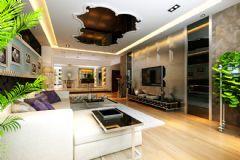 万和城现代风格三居室
