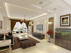 华林国际中式风格三居室