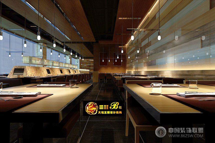 萬達虢國羊肉湯店_餐館裝修效果圖_八六(中國)裝飾(86