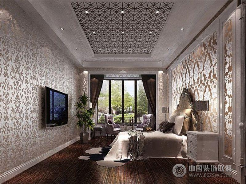 成都尚层装饰别墅装修欧美风格案例效果图二