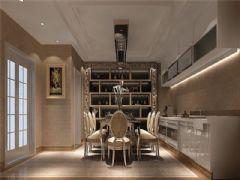 成都尚层装饰别墅装修欧美风格案例效果图(二十九)美式风格别墅