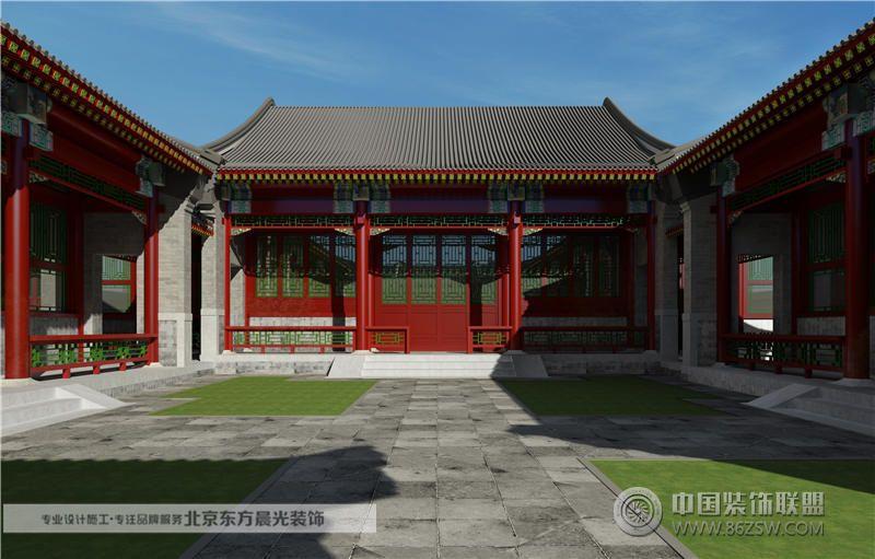 天津四合院设计 餐厅装修效果图 -天津四合院设计 餐厅装修图片