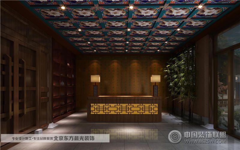 四合院度假山莊設計 客廳裝修效果圖 八六 中國 裝飾聯盟