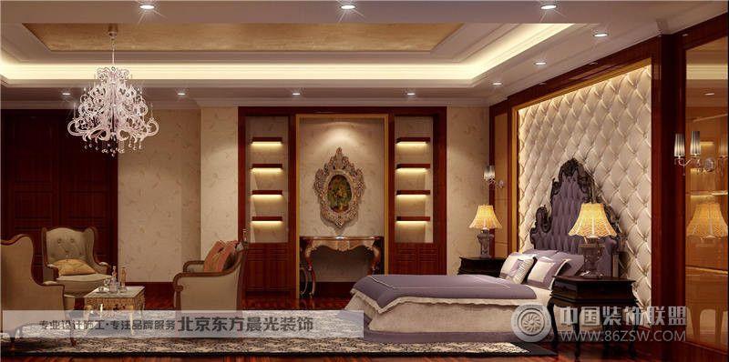 中式仿古四合院装修-客厅装修图片
