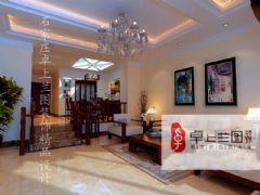 藏龙福地欧式风格三居室