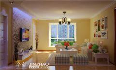蓝天家园现代风格三居室