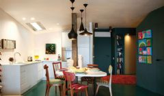 65平米多彩小户型公寓 有活力够时髦