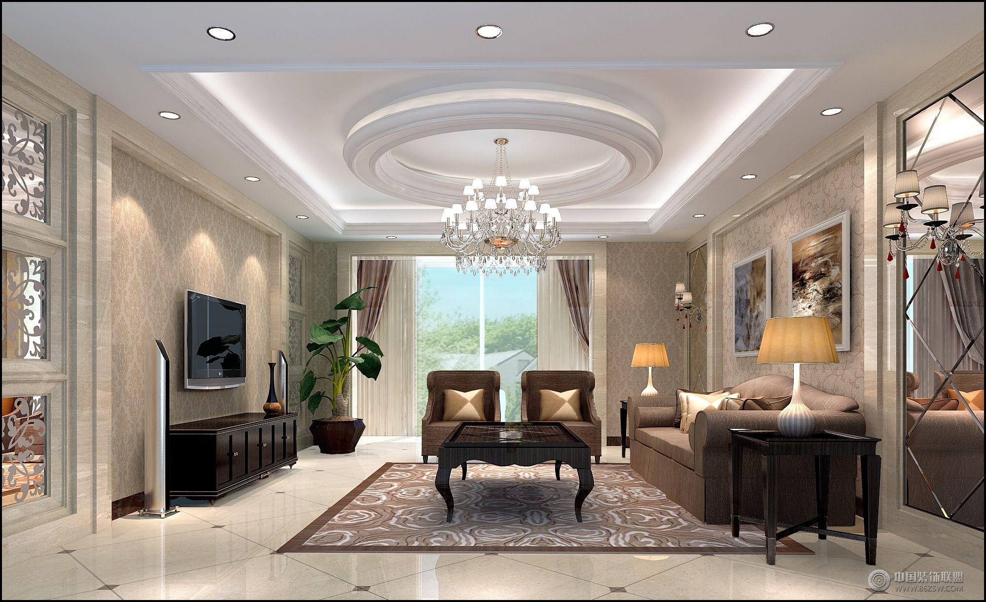 维多利亚欧式客厅装修图片