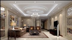 维多利亚欧式风格三居室