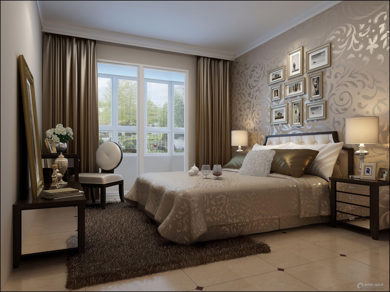 北欧风格的86平米公寓欧式儿童房装修图片 现代风格三室两厅两卫现代