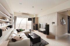 北欧风格二居室装修图