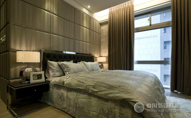 現代風格的小型室內裝修圖-臥室裝修圖片