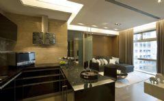 现代风格的小型室内装修图