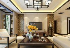 国际城四期中式风格三居室